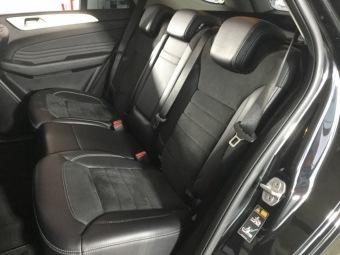 Seat back left